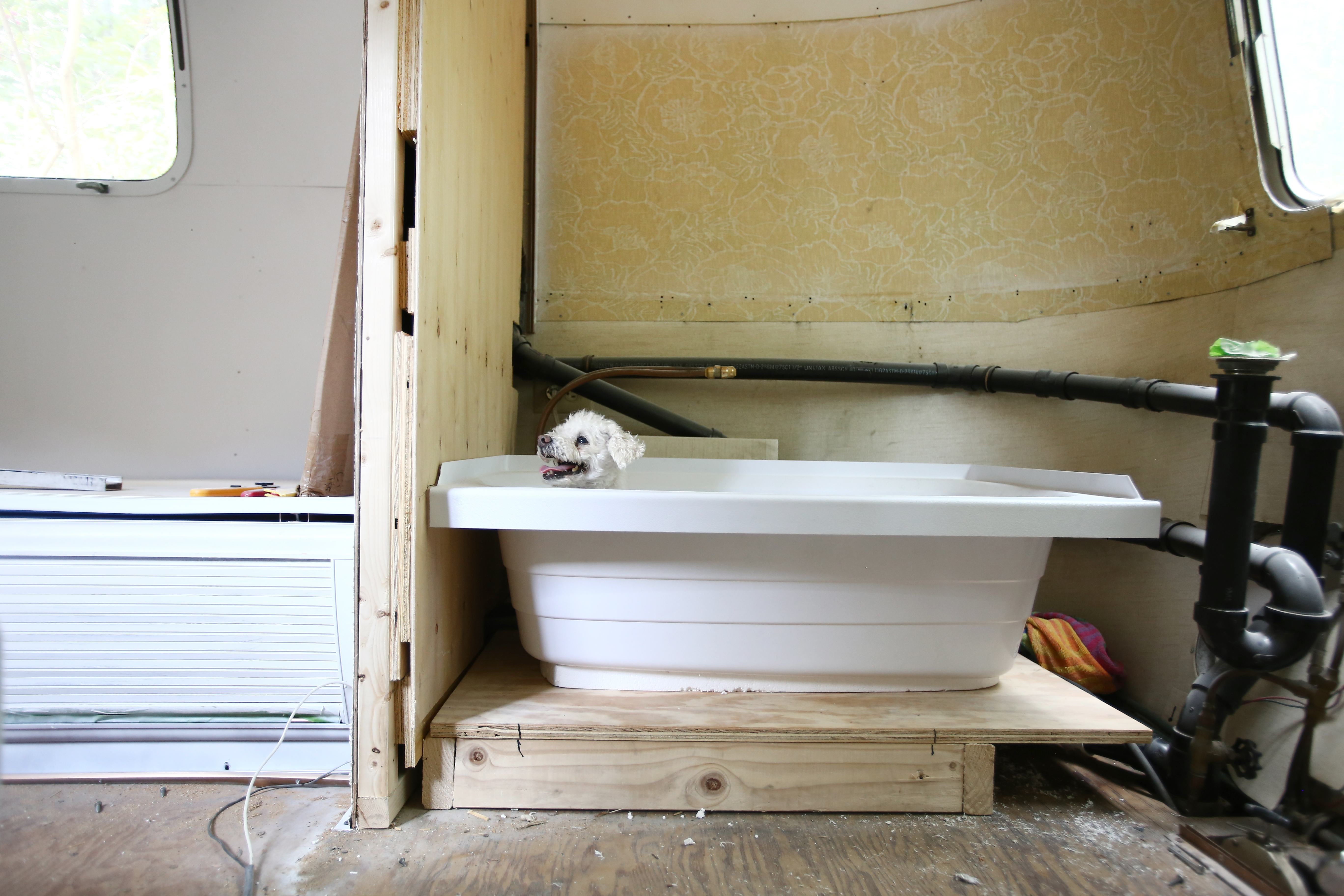 Airstream Bathroom Remodel | Before & After | Mavis the