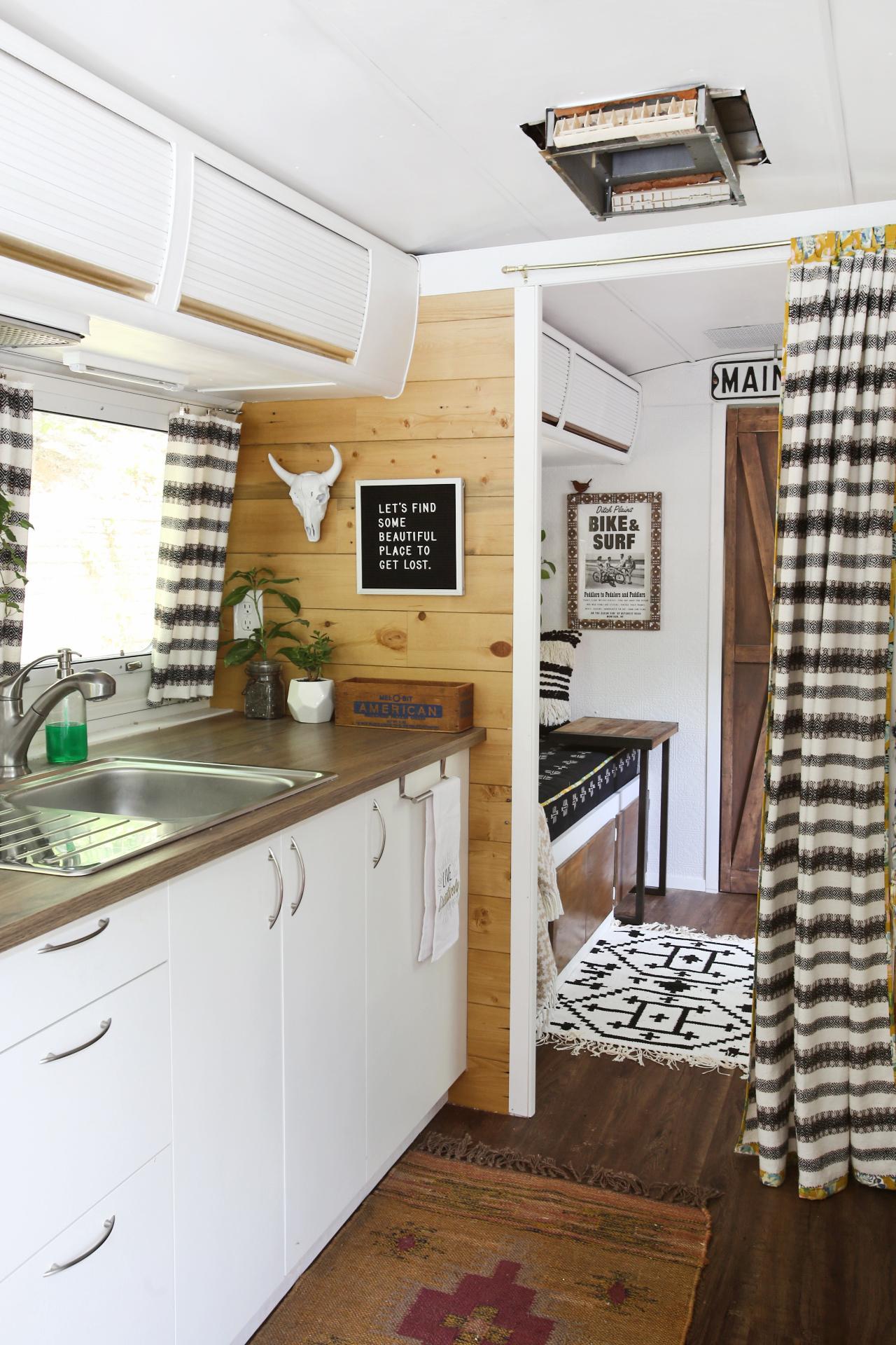 Vintage Airstream Kitchen Remodel